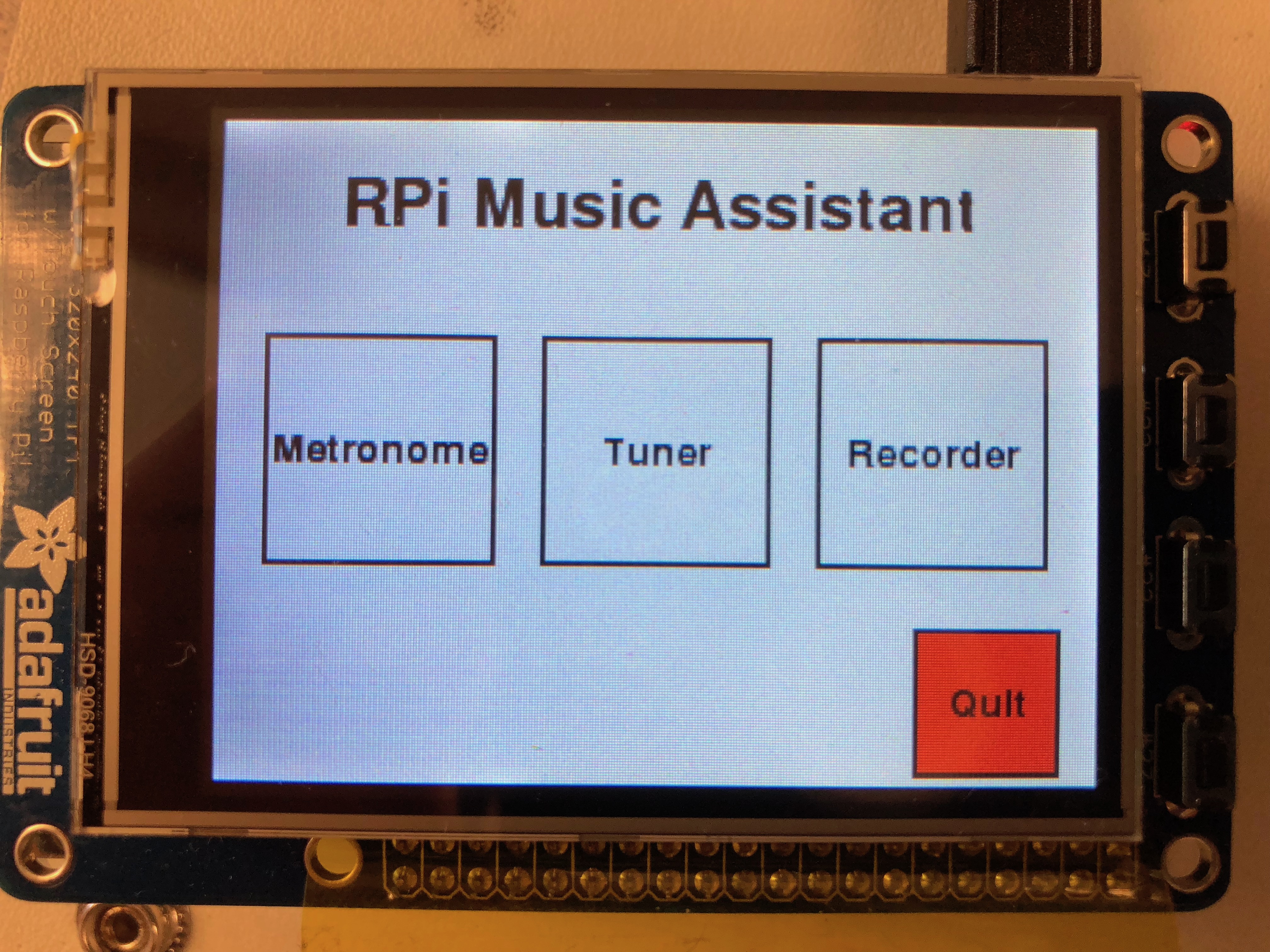 Raspberry Pi Music Assistant